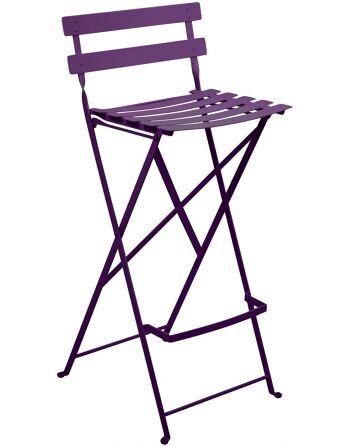 כסא בר לגינה Bistro סגול