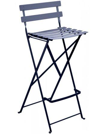 כסא בר לגינה Bistro כחול