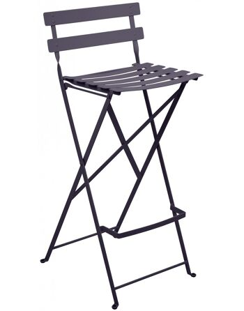כסא בר לגינה Bistro אפור
