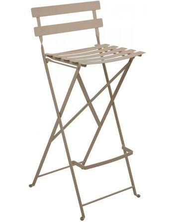 כסא בר לגינה Bistro חום