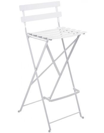 כסא בר לגינה Bistro לבן