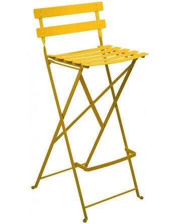 כסא בר לגינה Bistro כתום