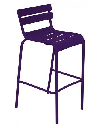 כסא בר לגינה Luxembourg סגול
