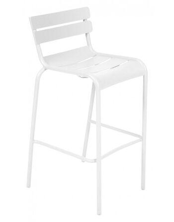 כסא בר לגינה Luxembourg לבן