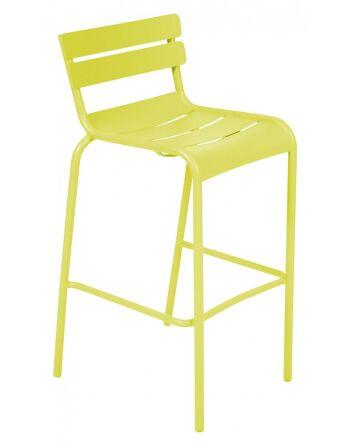 כסא בר לגינה Luxembourg צהוב
