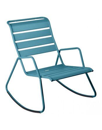 כסא נדנדה לגינה Luxembourg טורקיז