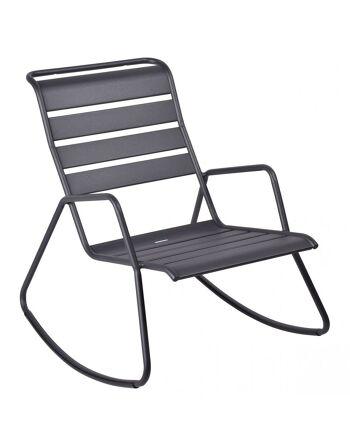 כסא נדנדה לגינה Luxembourg אפור