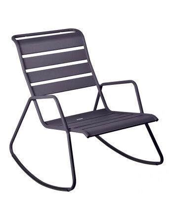 כסא נדנדה לגינה Luxembourg אפור כהה