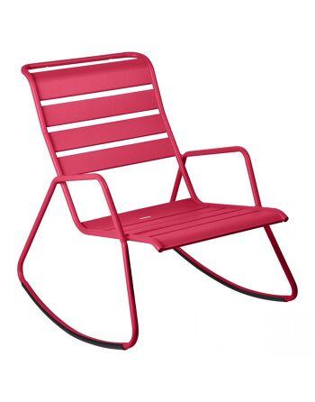 כסא נדנדה לגינה Luxembourg ורוד