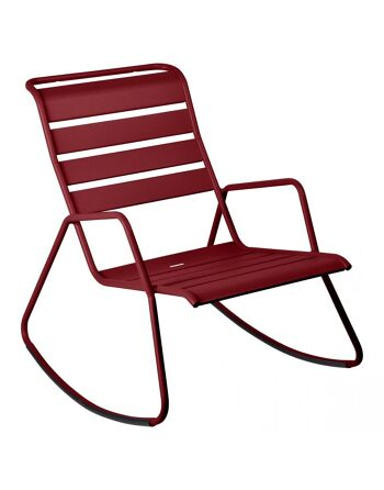 כסא נדנדה לגינה Luxembourg בורדו