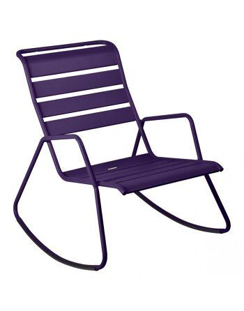 כסא נדנדה לגינה Luxembourg סגול