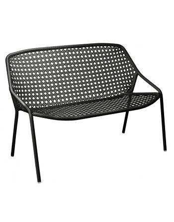 ספה דו/תלת מושבית לגינה Croisette שחור