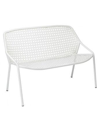 ספה דו/תלת מושבית לגינה Croisette לבן