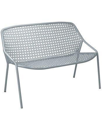 ספה דו/תלת מושבית לגינה Croisette אפור