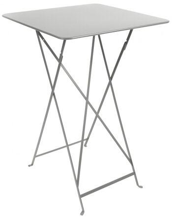 שולחן בר לגינה Bistro אפור