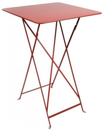שולחן בר לגינה Bistro אדום