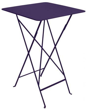 שולחן בר לגינה Bistro סגול