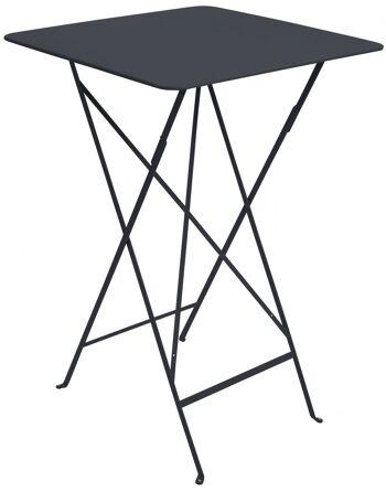 שולחן בר לגינה Bistro שחור