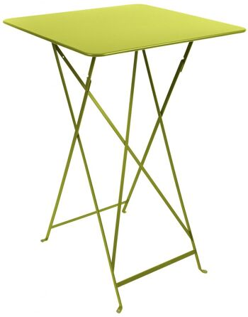 שולחן בר לגינה Bistro צהוב