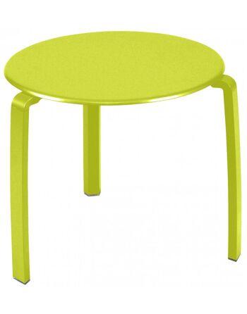 שולחן קפה לגינה Aliza צהוב