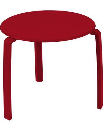 שולחן קפה לגינה Aliza אדום
