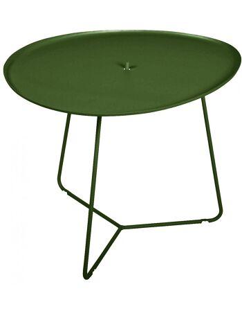 שולחן קפה לגינה Cocotte ירוק