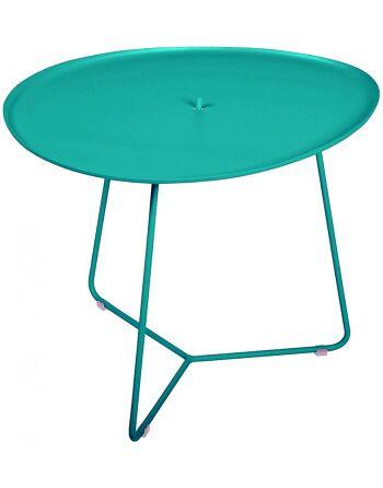 שולחן קפה לגינה Cocotte טורקיז