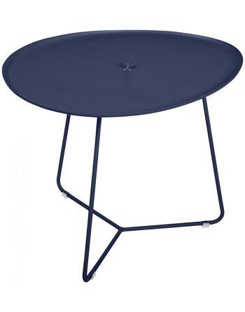 שולחן קפה לגינה Cocotte כחול