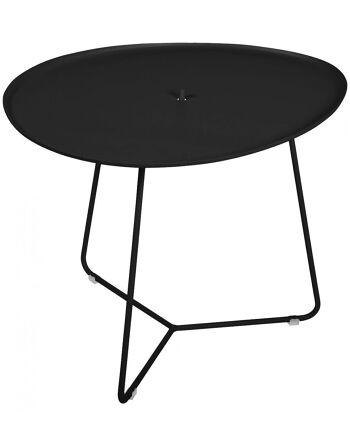 שולחן קפה לגינה Cocotte שחור
