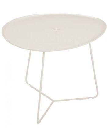 שולחן קפה לגינה Cocotte שמנת