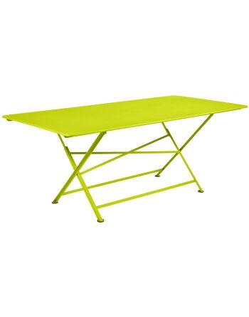 שולחן אוכל לגינה Cargo צהוב