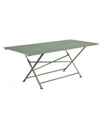 שולחן אוכל לגינה Cargo ירוק חאקי
