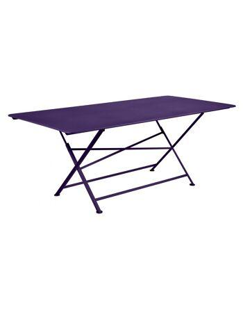 שולחן אוכל לגינה Cargo סגול