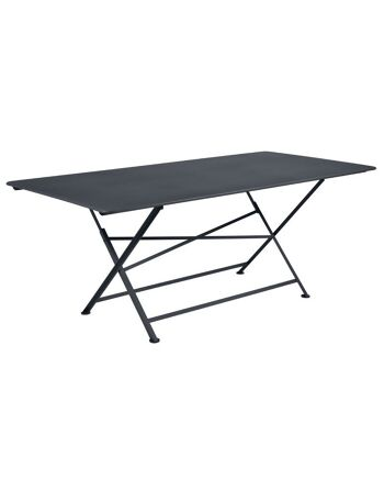 שולחן אוכל לגינה Cargo אפור