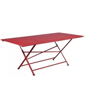שולחן אוכל לגינה Cargo בורדו