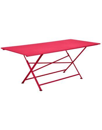 שולחן אוכל לגינה Cargo ורוד