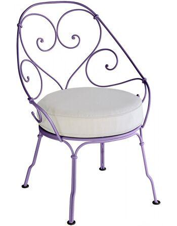 כסא לגינה 1900 סגול
