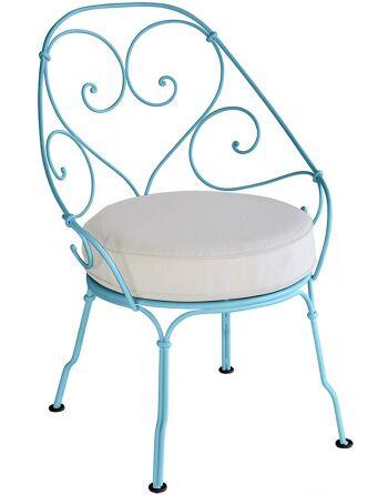 כסא לגינה 1900 טורקיז