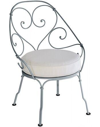 כסא לגינה 1900 אפור