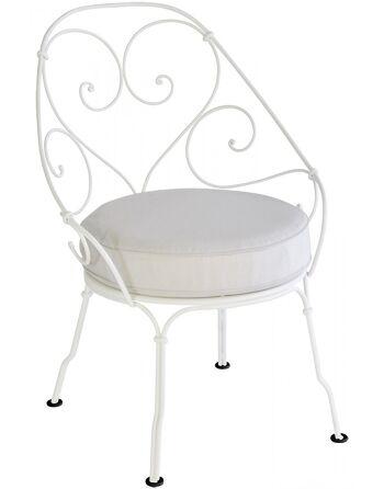 כסא לגינה 1900 לבן