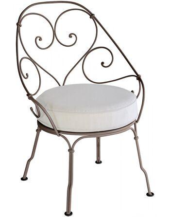 כסא לגינה 1900 חום