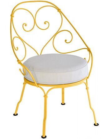 כסא לגינה 1900 כתום