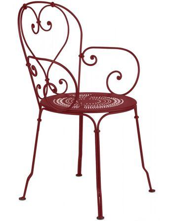 כסא אוכל לגינה בורדו