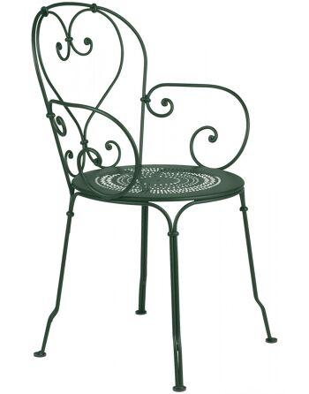 כסא אוכל לגינה ירוק