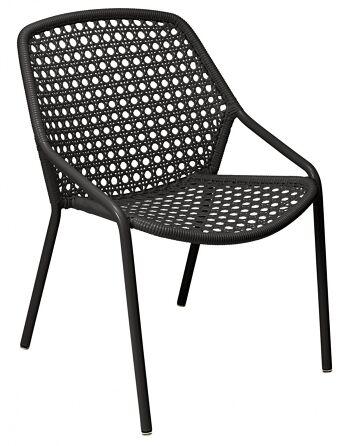 כסא לגינה Croisette שחור