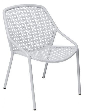 כסא לגינה Croisette לבן