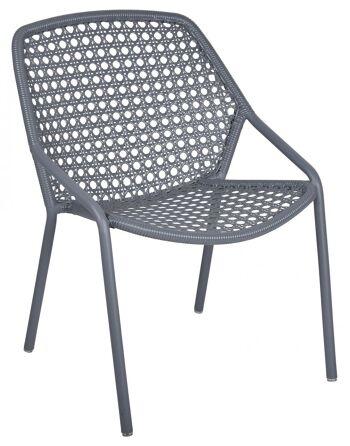 כסא לגינה Croisette אפור