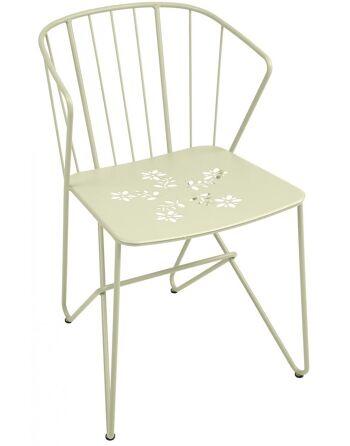 כסא אוכל לגינה Flower