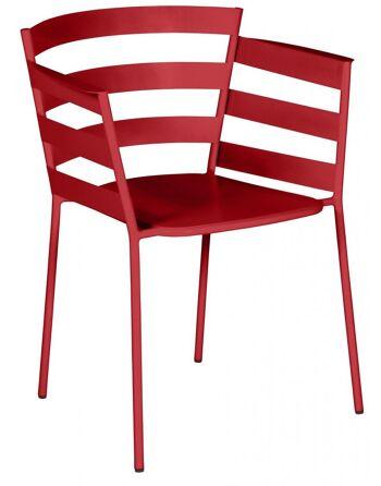 כסא אוכל לגינה Rythmic בורדו