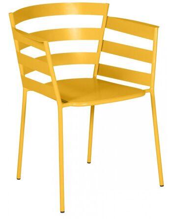 כסא אוכל לגינה Rythmic כתום